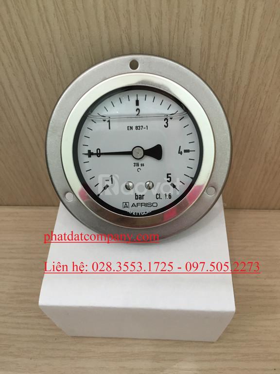 Đồng hồ áp suất, thiết bị đo áp suất, đồng hồ afriso, đồng hồ đo