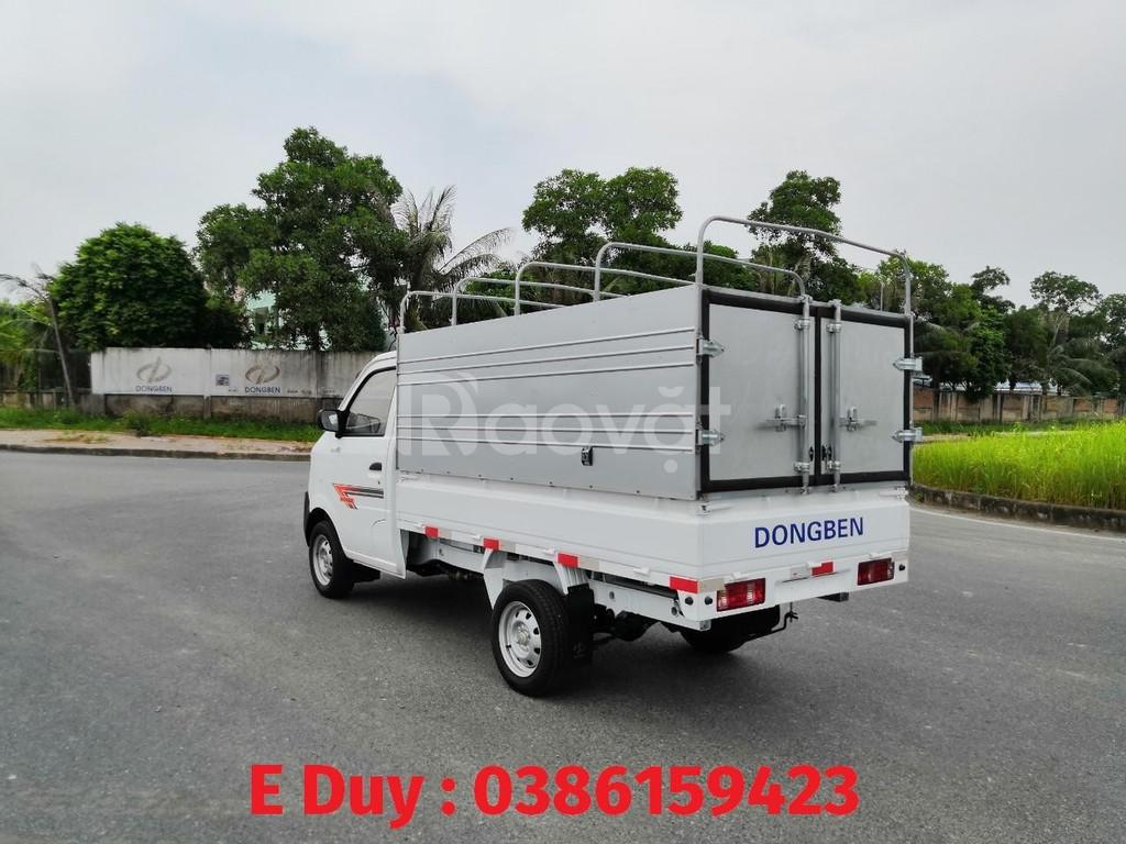 Bảng giá xe dongben 2020, dongben db 1021, chiều dài thùng 2m5