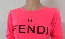 Cung cấp sỉ áo thun in chữ hiệu Fendi