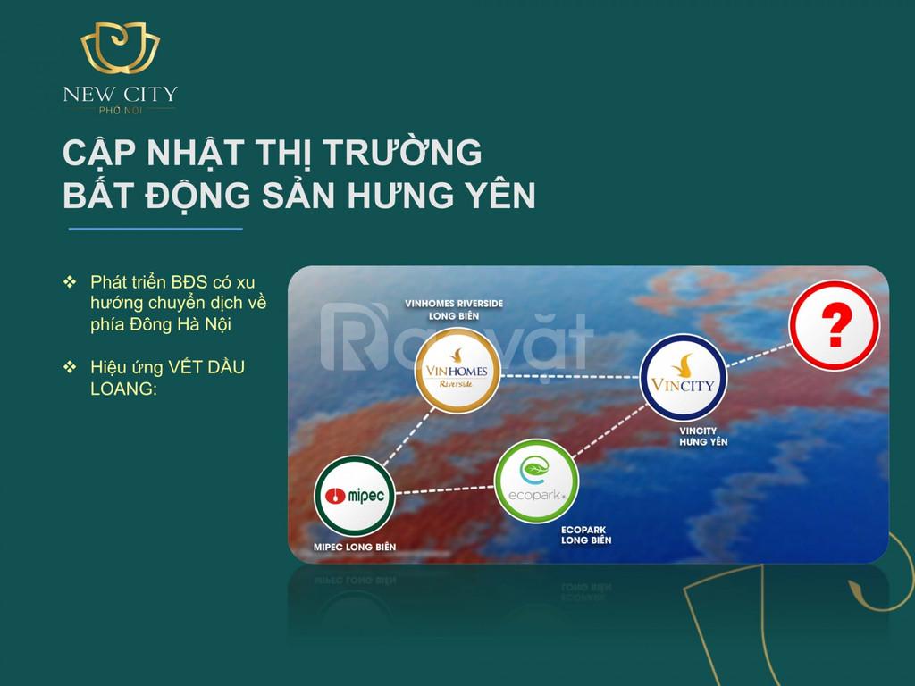 Đất nền đô thị huyện Yên Mỹ gần quy hoạch 1.800ha