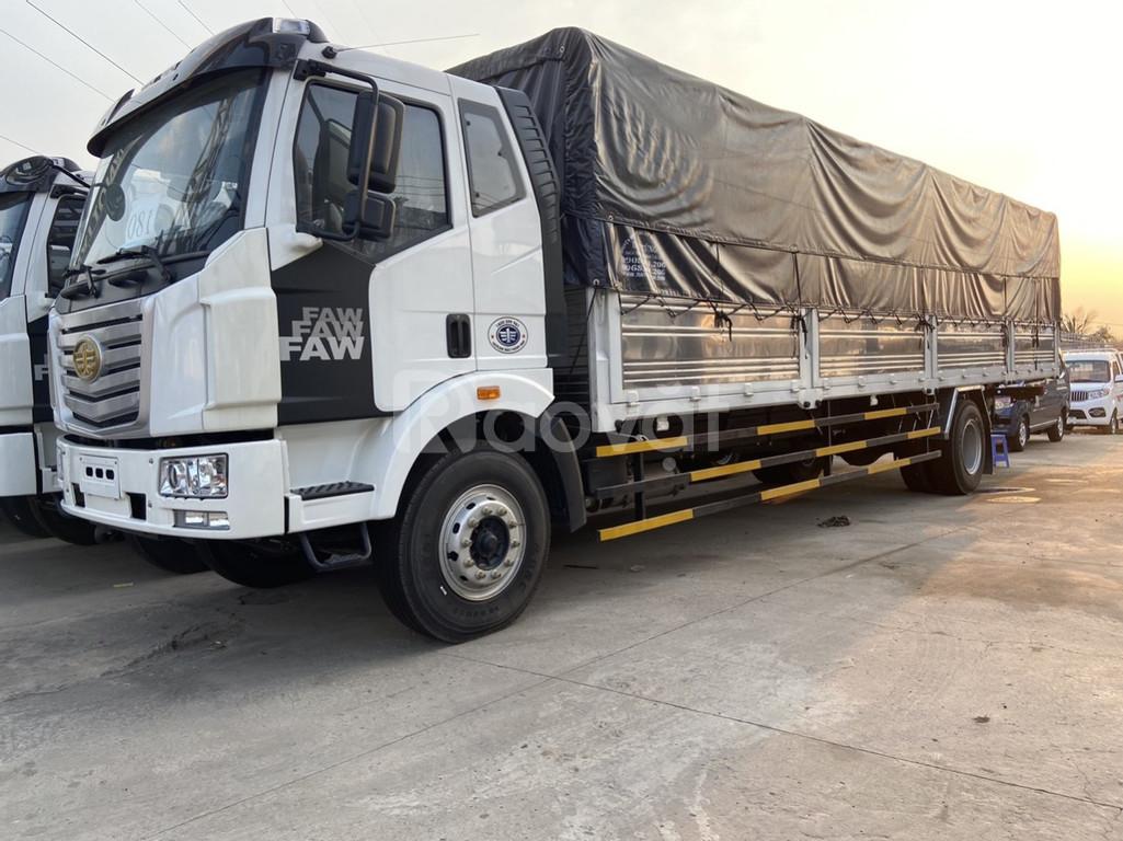 Xe faw 7.25 tấn thùng dài 9m7 - Mua trả góp lãi xuất thấp