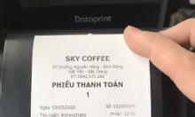 Máy tính tiền cho quán cafe tại Bắc Giang