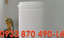 Hủ nhựa 2kg đựng sơn, hủ nhựa 1kg tròn,hủ nhựa 100g đựng kẹo dược phẩm