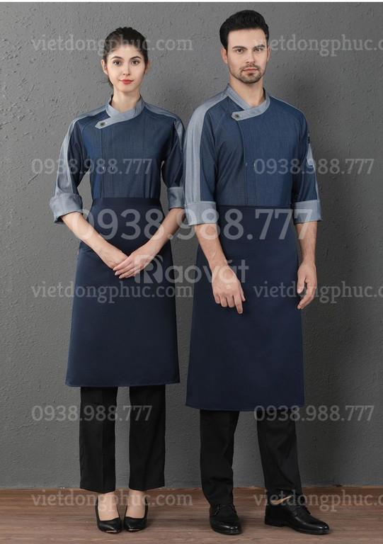 Nhận may đồng phục nhà bếp đa dạng về chất liệu và kiểu dáng