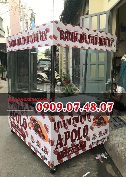 Xe bánh mì Thổ Nhĩ Kỳ 1M2 X 1M5 - KP004_XT
