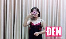 Sỉ nguyên ri đầm ngủ thun lạnh phối ren giá 3x mẫu mới