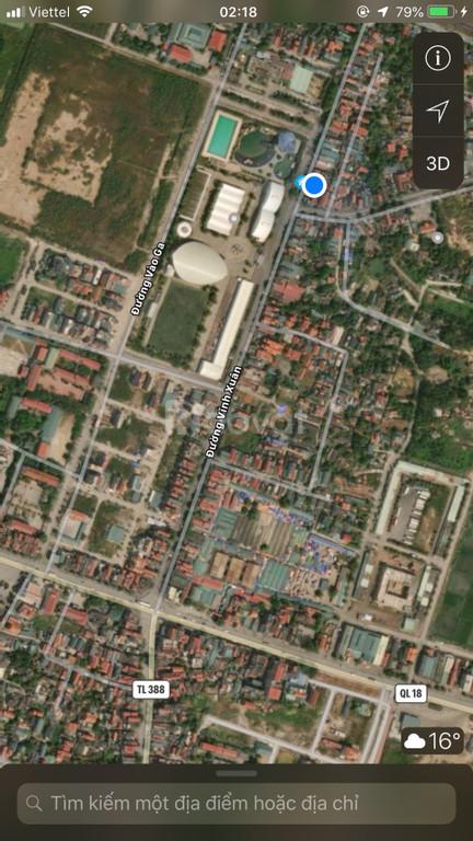 Chính chủ bán đất kèm nhà Khu Vĩnh Xuân, p Mạo Khê, Tx Đông Triều