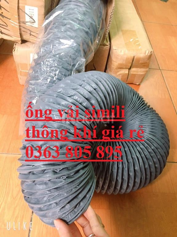 Ứng dụng của ống gió mềm vải-ống gió vải màu ghi