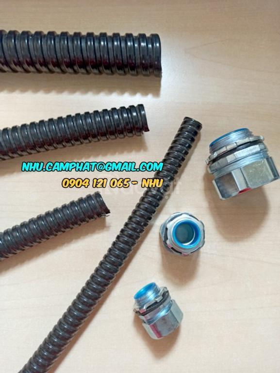 Ống ruột gà lõi thép bọc nhựa PVC. Flexible Conduit