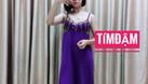 Sỉ nguyên ri đầm ngủ thun lạnh phối ren giá 3x mẫu mới (ảnh 5)