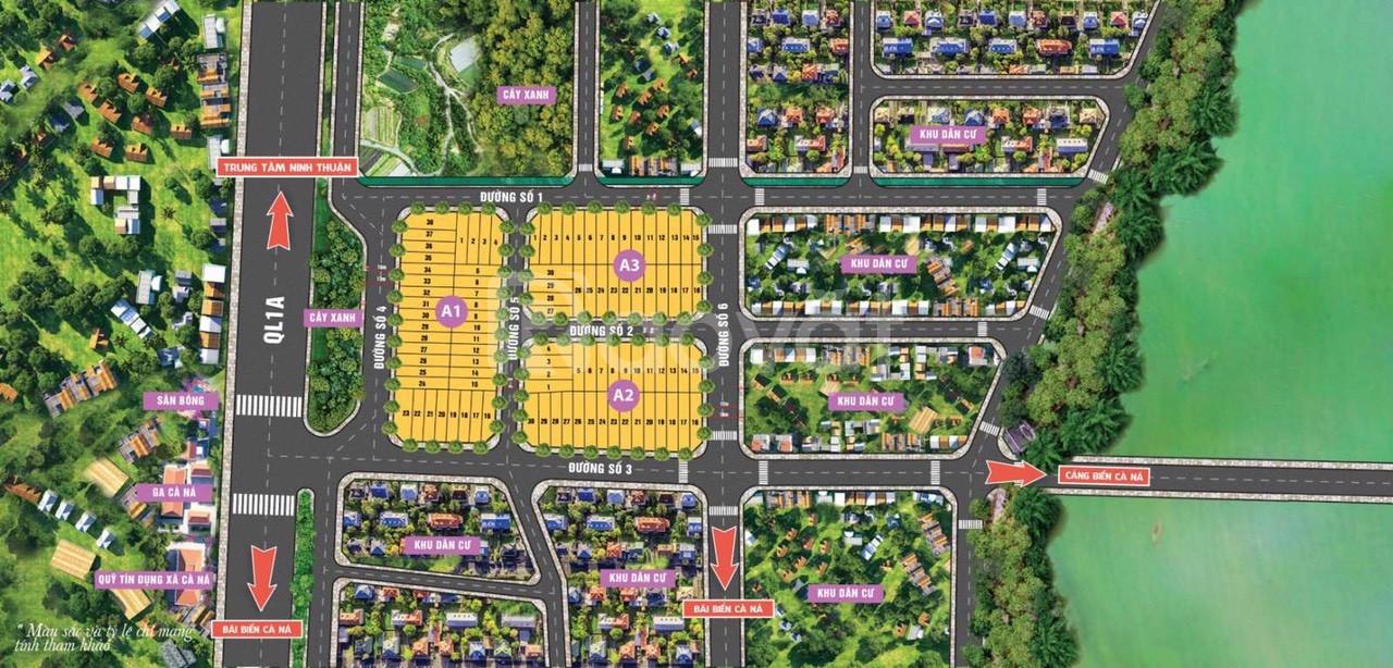 Cần bán 200m2 đất nền giá đầu tư khu kinh tế phía nam Ninh Thuận