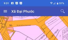 Bán lô đất 139m2 gần đường Lý Thái Tổ, xã Đại Phước