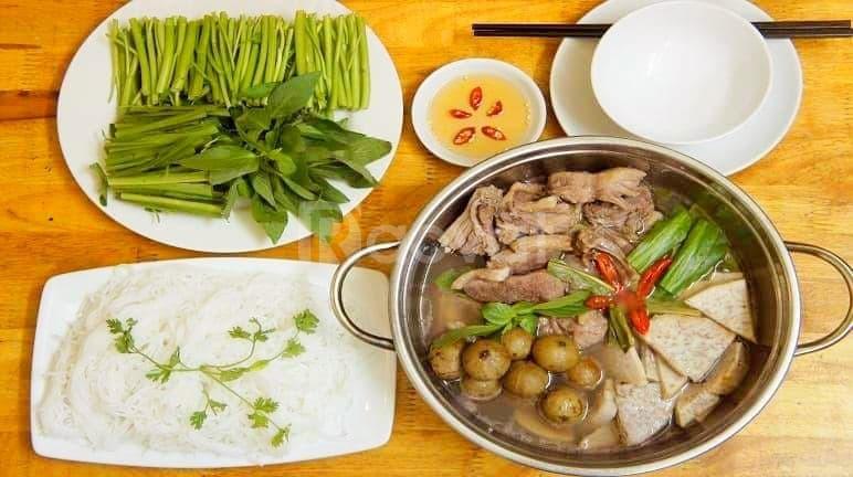 Món vịt, vịt nướng, bún chả Hà Nội