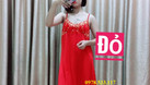 Sỉ nguyên ri đầm ngủ thun lạnh phối ren giá 3x mẫu mới (ảnh 4)