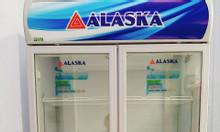 Tủ mát Alaska 2 cánh 1200L , mới 89%