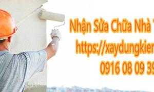 Sửa chữa nhà giá rẻ tại Dĩ An