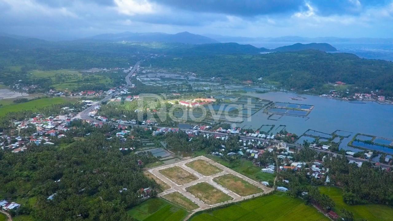 Đất biển Đô Thị,liền kề resort, view Vịnh Xuân Đài,chỉ 555tr/nền.