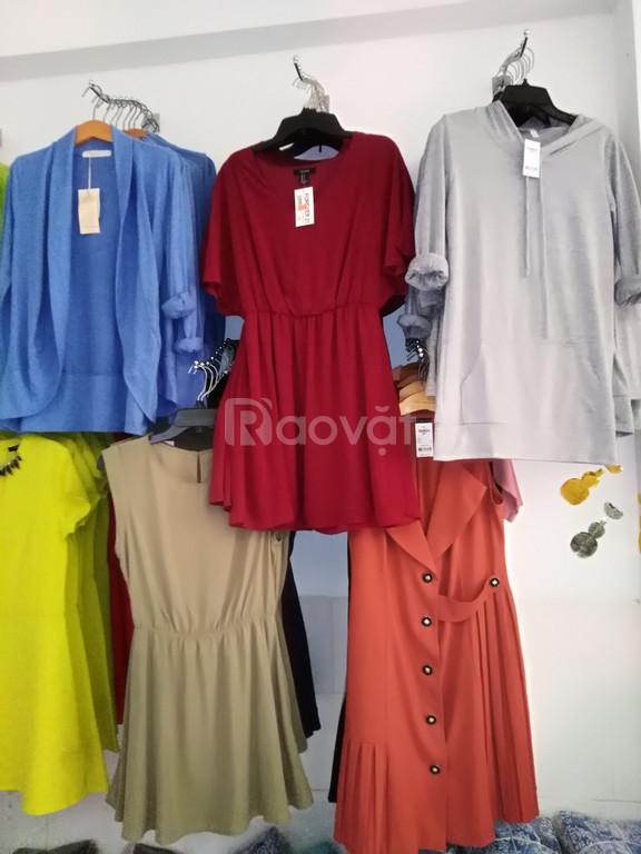 Nguồn hàng quần áo, váy đầm nữ xuất khẩu sỉ ôm lô giá rẻ nhất Sài Gòn