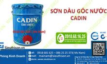 Sơn dầu Cadin nhận pha mẫu màu theo yêu cầu công trình