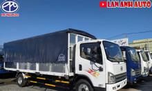Xe tải FAW 7,3 tấn thùng bạt dài 6m2 ga cơ