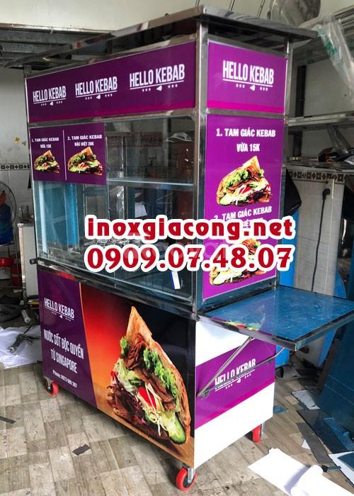 Xe doner kebab kèm bảng hiệu (ảnh 4)