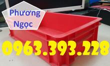 Thùng nhựa đặc B2, khay nhựa đựng linh kiện, thùng có nắp