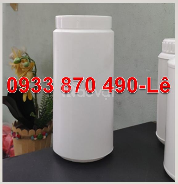 Hộp nhựa 1000g đựng bột, hủ nhựa 0.5kg đựng bột,hộp nhựa 500g