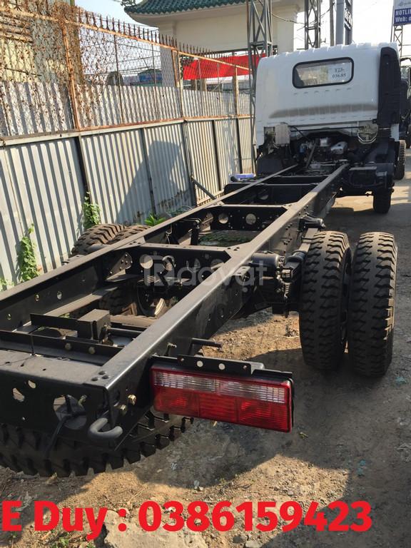 Xe tải 7 tấn giá rẻ, faw 7.3 tấn, động cơ Hyundai, faw 2020