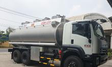 Xe bồn isuzu 20 khối chở xăng dầu, hỗ trợ trả góp toàn quốc