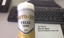 Keo silicone chịu nhiệt cao màu xám AUTO-SEL TSEAL 1000