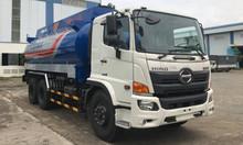 Xe bồn Hino FL 20 khối chở xăng dầu, có xe giao ngay