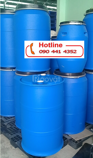 Bán thùng phuy sắt cũ 220 lít đựng hóa chất,thùng phuy nhựa đựng 220L