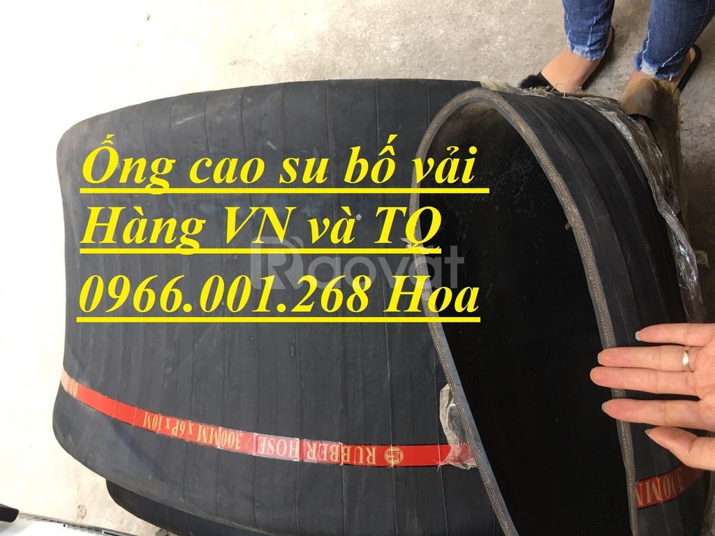 Ống cao su bố vải D100,ống cao su bố vải D 200 hàng VN ,hàng TQ