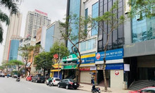 Bán nhà mặt phố Yên Lãng Đống Đa 60m2, 6 tầng, vỉa hè rộng 8m, giá 22 tỷ