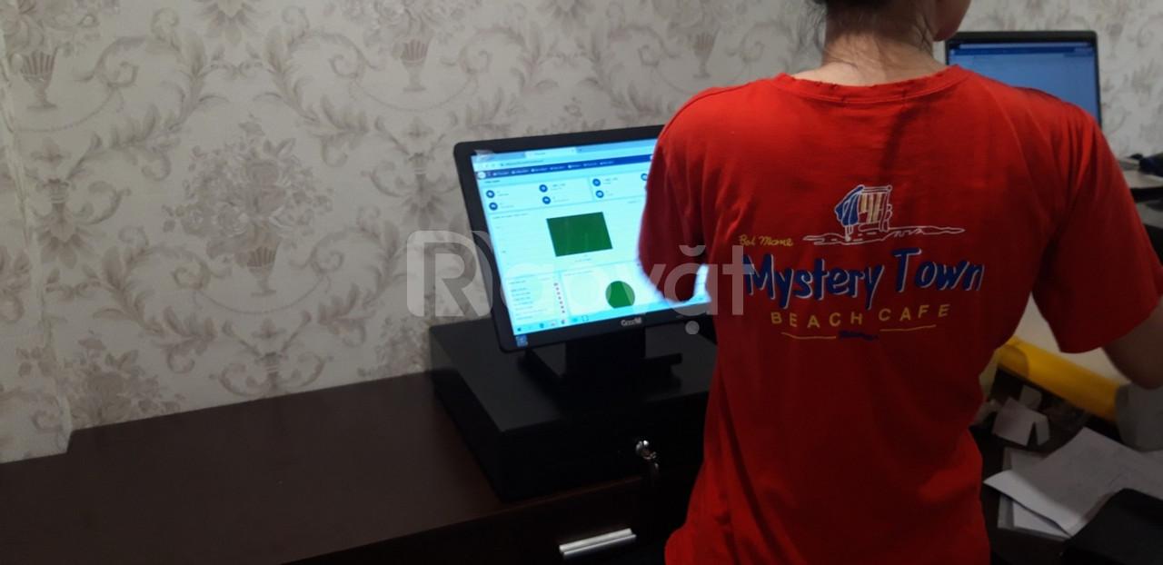 Máy tính tiền quán ăn giá rẻ TPHCM