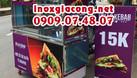 Xe doner kebab kèm bảng hiệu (ảnh 3)