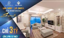 Bán gấp suất Ngoại giao căn Goldmark City 3pn 121m2 ngay Mỹ Đình