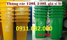 Xả kho thùng rác 240 lít giá rẻ tại trà vinh, thùng rác giá sỉ