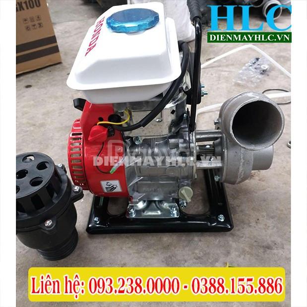 Máy bơm nước Honda GX100 chạy xăng, máy bơm mini giá rẻ