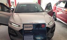 Hyundai Kona lên Philips Ulniton sáng