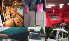 Cho thuê xe 4 , 7 , 16c limousine đi Mộc Bài dán Visa