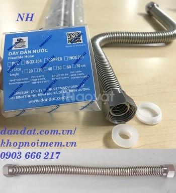 Nhà sản xuất dây bình nóng lạnh, ống dẫn nước inox, dây dẫn nước (ảnh 7)