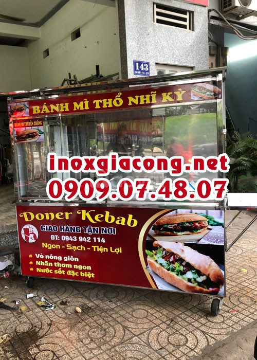Xe bánh mì doner kebab 1M5