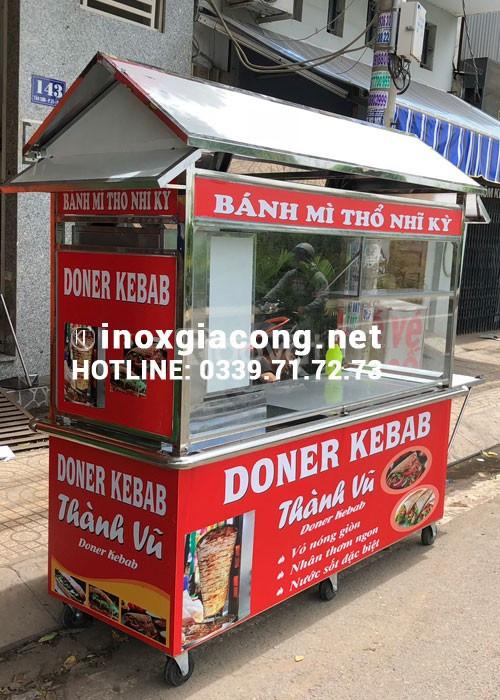 Xe đẩy doner kebab thành vũ