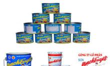 Tìm cơ sở cung cấp sơn dầu Bạch Tuyết màu xanh rêu 657 giá rẻ