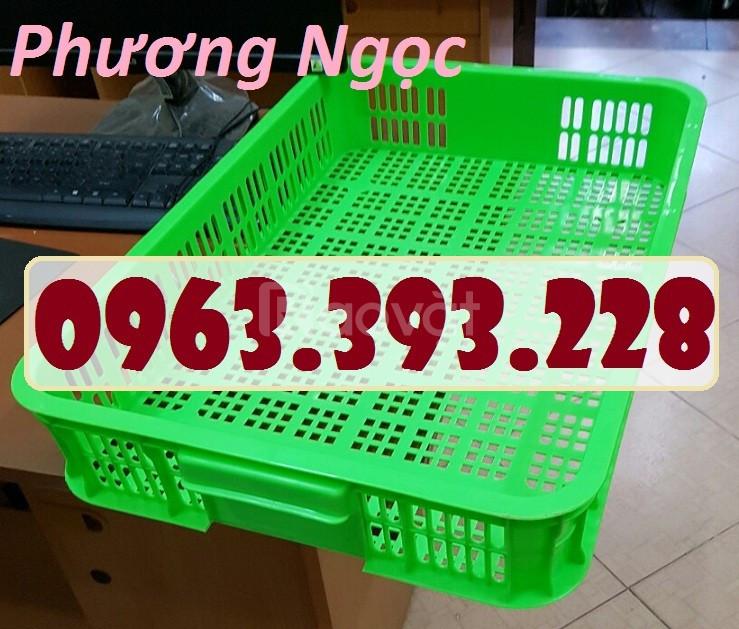 Sọt nhựa HS010, sọt đựng đồ siêu thị, sọt đựng linh kiện