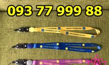 Xưởng sản xuất dây đeo thẻ, dây đeo thẻ nhân viên giá rẻ ht12
