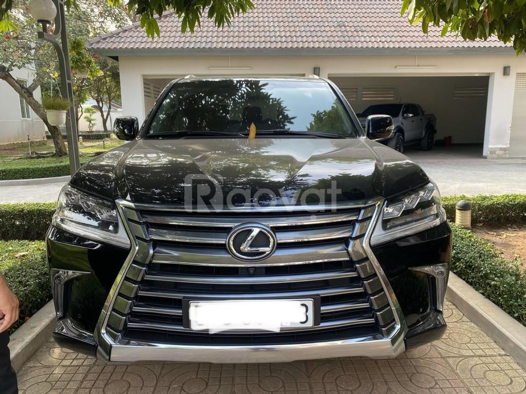 Bán Lexus LX570 sản xuất và đăng ký cuối 2017, lăn bánh 4800 km