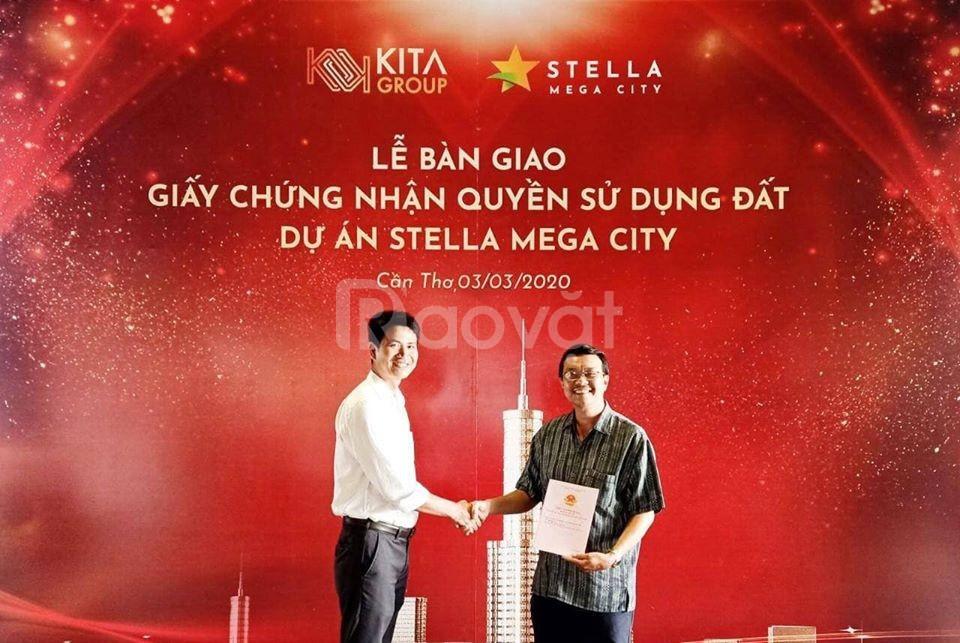Khu đô thị Stella Mega City – Sổ đỏ từng nền