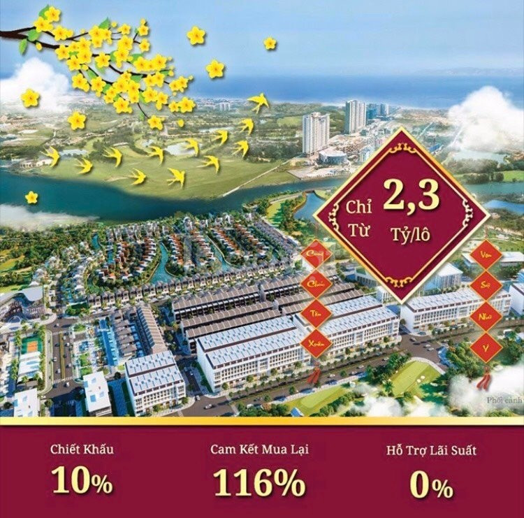 950 triệu sở hữu dự án vàng bất động sản biển 2020